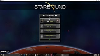 How to Transfer Characters Across Computers in Starbound