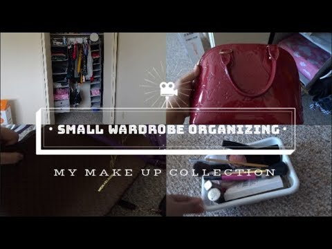 how-to-organize-a-small-closet|-my-make-up-products|my-handbag-collection|
