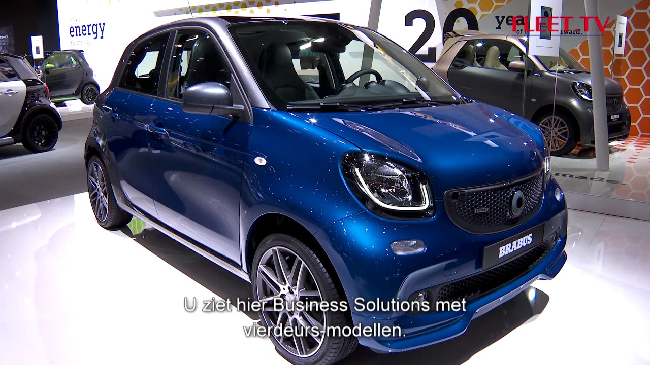 Smart autosalon 2018 salon de l 39 auto 2018 fleet tv for Salon de l auto 2018