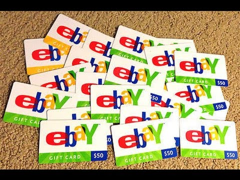 How to redeem a ebay Giftcard! - YouTube