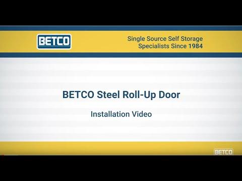 BETCO Steel Roll Up Doors Installation Video