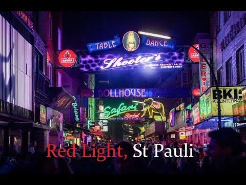 Hamburg walking tour around St Pauli | Red Light Dist.