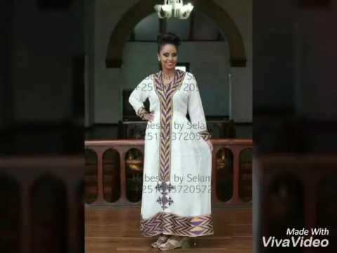 New fashion habesha dress 2017