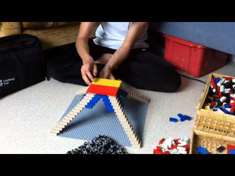 Building lego Tokyo Tower
