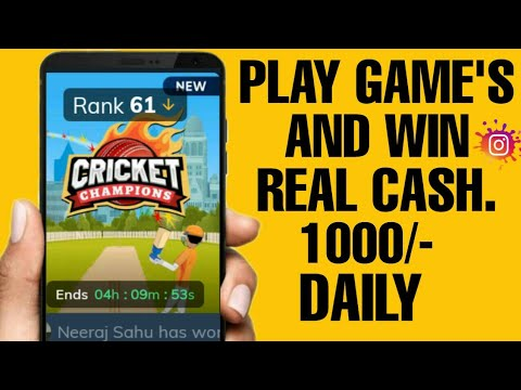 Play Online Games And Win Real Cash