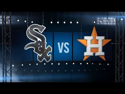 5/31/15: Danks shuts out Astros in 6-0 win