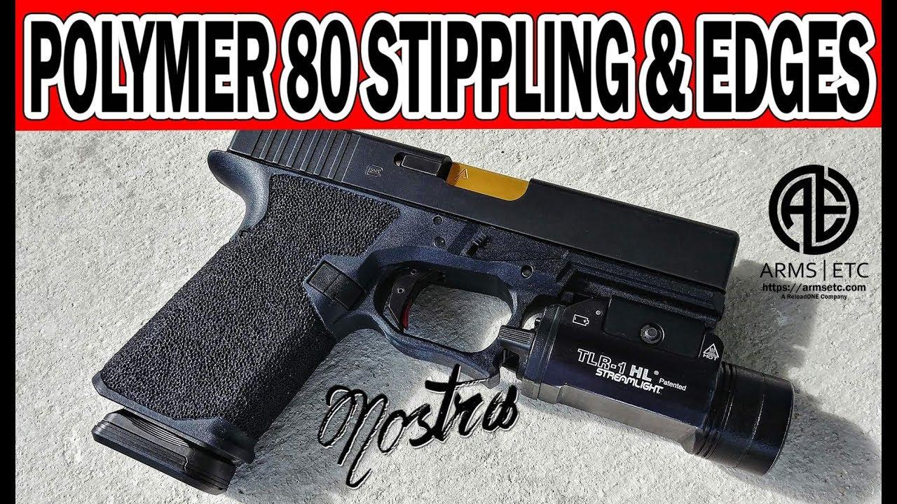 Polymer80 Glock PF940C Stippling and Crisp Edges