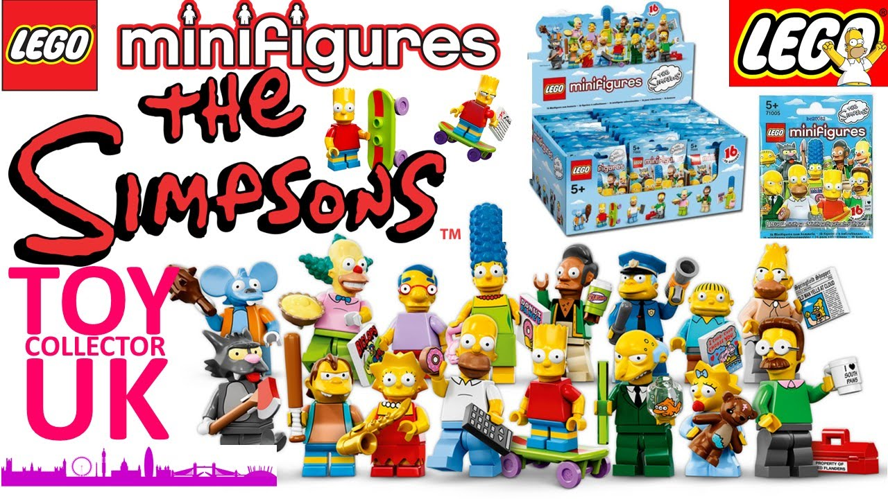 Simpsons Lego Minifigures Opening Complete Set Series 1