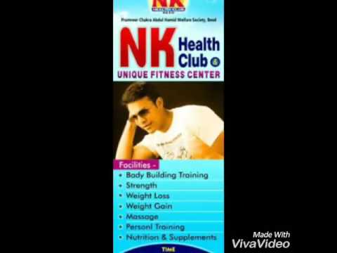 Beed N K health club... M. S