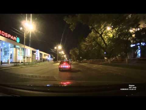 PlayMe BACK в Нижнем Новгороде.  Пример ночного видео