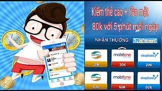 Kiếm tiền online 80.000đ mỗi ngày với Mobicaz kiếm tiền hay nhanh nhất