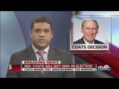 Sen. Dan Coats will not seek re-election