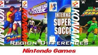 International Superstar Soccer 64 - Nintendo 64   Opening or Intro  Region Differences