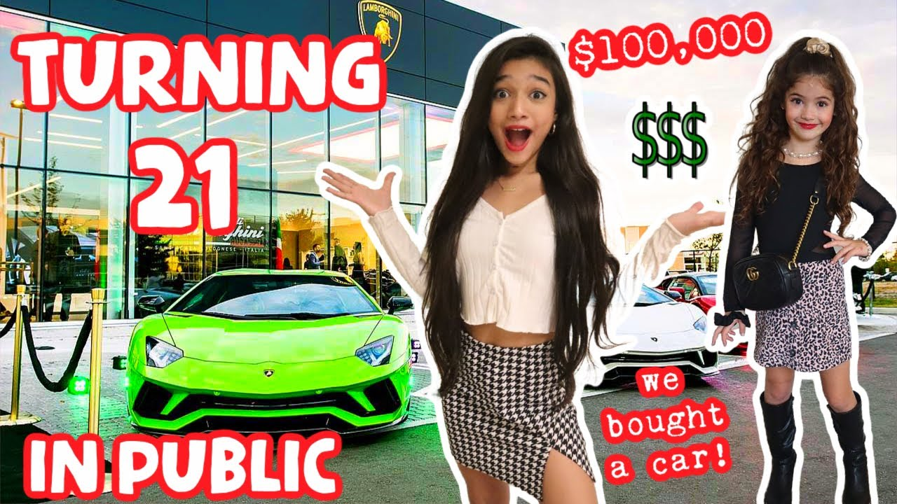 Download TURNING 21 YEARS OLD & GOING OUT IN PUBLIC!!!! PART2! FINALLY***