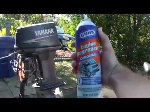 How To Detail/Clean A Outboard Motor