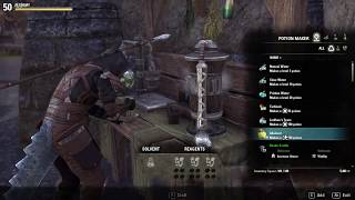 Alchemist Writ The Elder Scrolls Online - Damage Stamina Poison IX