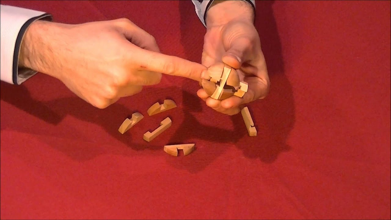 solution pour casse tete mini puzzle bois YouTube # Casse Tete Bois Solution