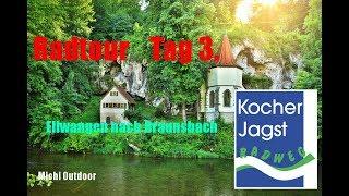 Kocher Jagst Radweg Tag 3