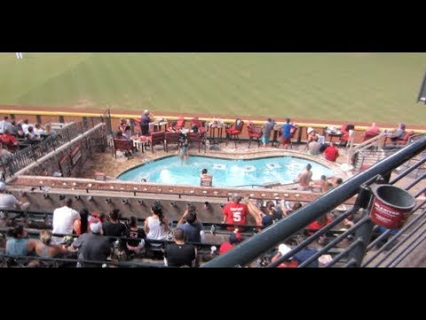 They Have a Swimming Pool in the Baseball Stadium!!!