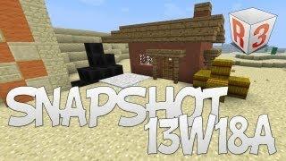 Minecraft Snaphshot 13w18a - Blocs de charbon et nouvelles recettes de craft !