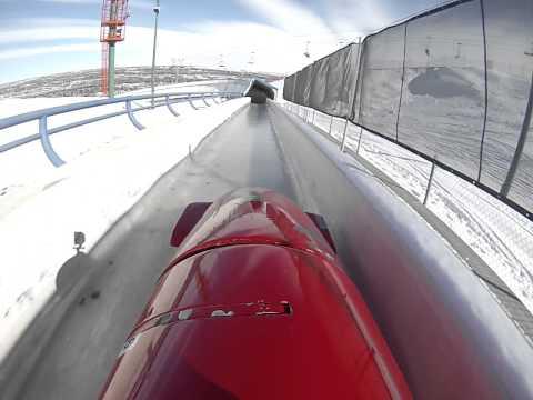 Bobsled Pilot POV Calgary