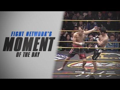 Isao Terada Flatlines Hiroshi Nakamura at DEEP 46 Impact | Moment of the Day