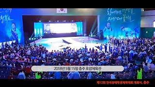 제12회 전국장애학생체육대회 개회식 현장(2018 충주…