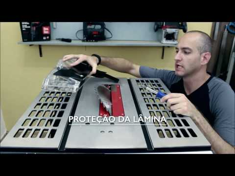 Skil na prática: Como montar a serra de mesa 3610?