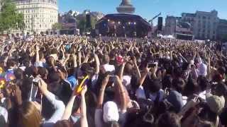 f(x) All Performance in London Korean Festival 2015 (Trafalgar square)