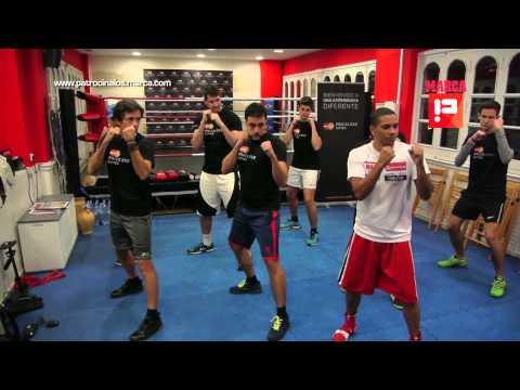 ¿Cómo entrena un boxeador profesional? 'Maravilla' Alonso se lo explica a los clientes MasterCard