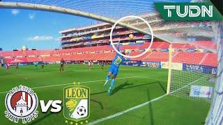 ¡Bombazo! Castro revienta el travesaño   San Luis 0-1 León   Guard1anes 2020 Liga MX - J12   TUDN