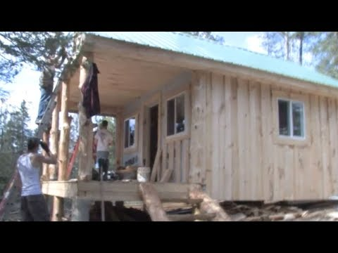 Horselogging: Timber to Cabin 4 - Building the Cabin