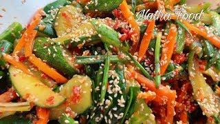 Kim chi dưa leo, cách muối dưa leo giòn ngon đậm đà cho ngày Tết || Natha Food