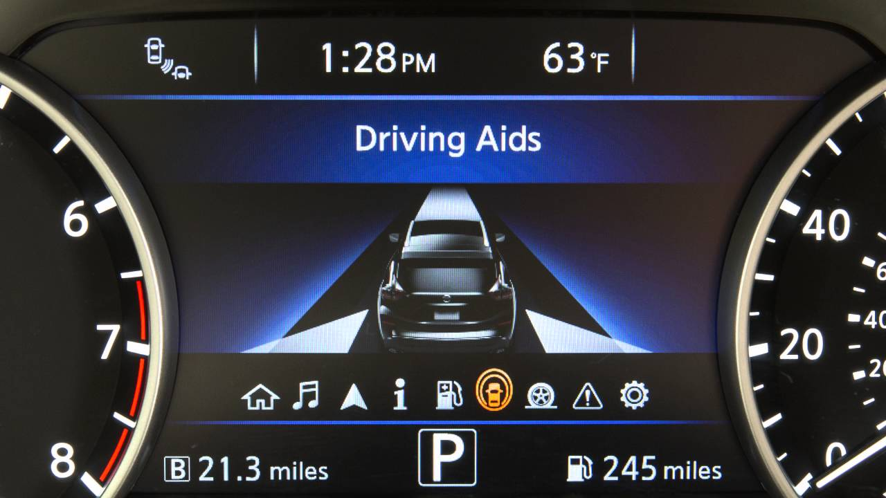 2016 NISSAN Murano - Vehicle Information Display
