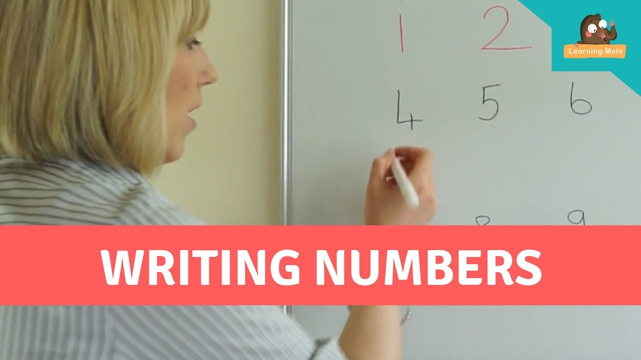 Writing Numbers from 14-140 for Kids - How to Write Numbers