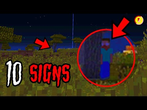 10 SIGNS HEROBRINE IS IN YOUR WORLD! (Ps3/Xbox360/PS4/XboxOne/WiiU/Switch)