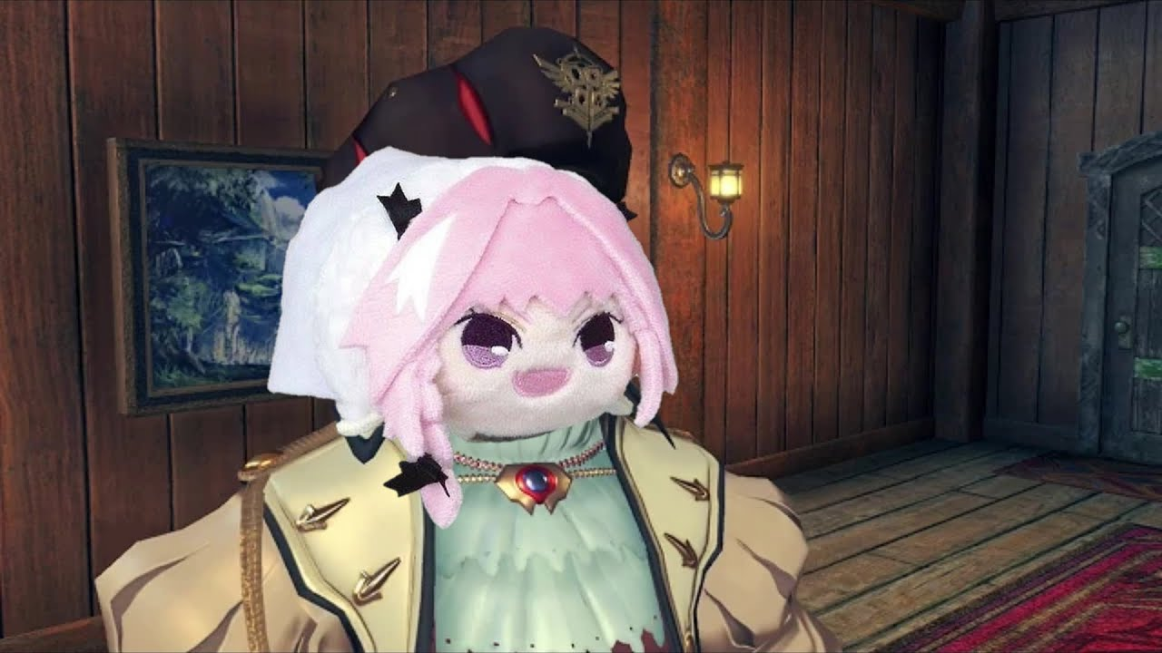 Astolfo Plushie haunted astolfo bean plushie that informs you what color