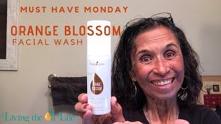 Orange Blossom Facial Wash from Young Living
