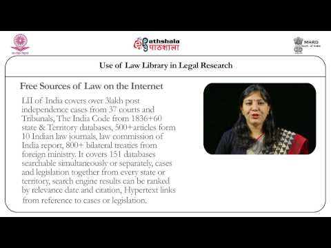 Use of Law  Library in Legal  Research _M15
