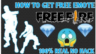 HOW TO GET FREE EMOTE IN FREE FIRE || HOW TO GET FREE IN FREE FIRE ||INDIA|🇮🇳|