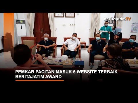 PEMKAB PACITAN MASUK 5 WEBSITE TERBAIK, BERITAJATIM AWARD