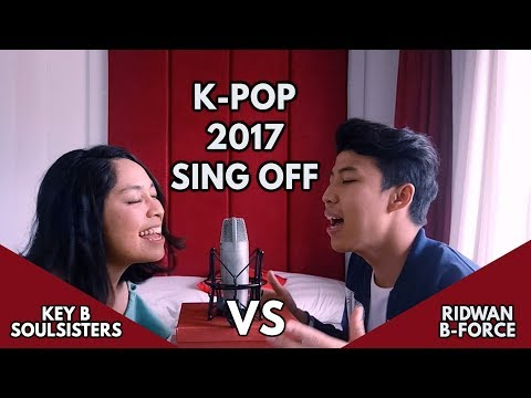 BTS - DNA | K-Pop HITS 2017 MASH-UP (SING-OFF vs. Key B Soulsisters)