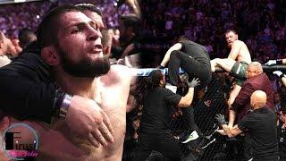 Conor McGregor vs Khabib Nurmagomedov ENDING / HD / UFC 229