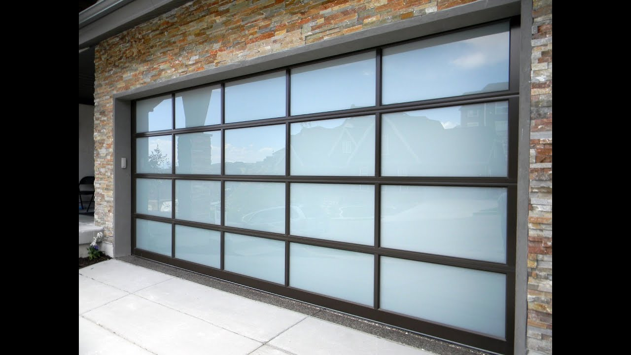 Inside A Garage Door With Smoked Glass 630 271 9343 Youtube