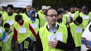 Marche de Charité organisée par Ansarullah de France