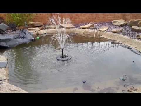 Fountain Pond Pump Floating System - Zenith UK