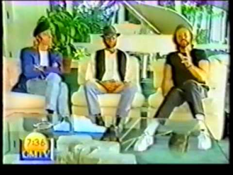 Bee gees interview - having fun