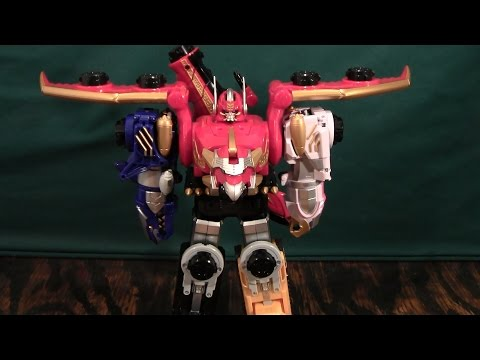 Tensou Sentai Goseiger Gosei Great Review, or How I Learned to Eat Dirt (Megaforce Megazord)