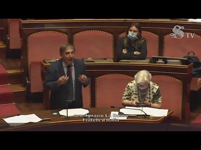FdI Parlamento - Il Sen. La Russa sulle disposizioni sulla parità di genere nelle elezioni