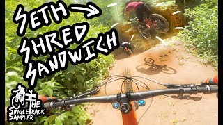 SMEASHING LAPS AT BAKER CREEK JUMP TRAILS WITH SETH'S BIKE HACKS // The Singletrack Sampler
